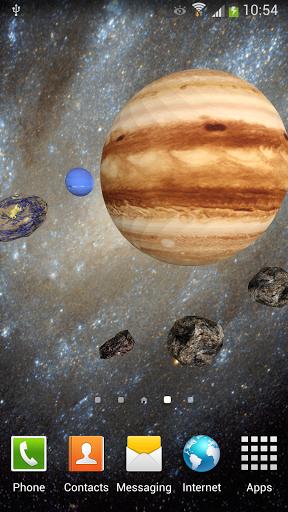 Скачать 3D Космос Живые Обои FREE для Андроид