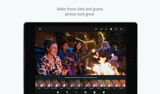 Скачать Adobe Photoshop Express для Андроид