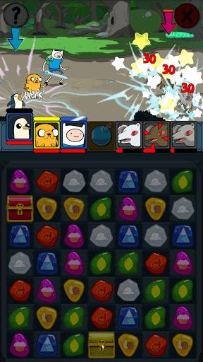 Скачать Adventure Time Puzzle Quest для Андроид