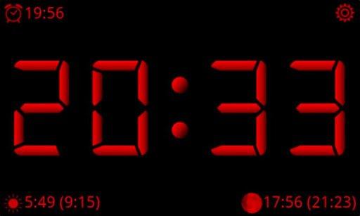 Скачать AdyClock — ночные часы для Андроид