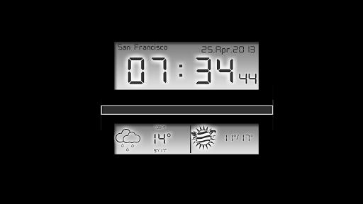 Скачать Alarm Clock Цифровой будильник для Андроид