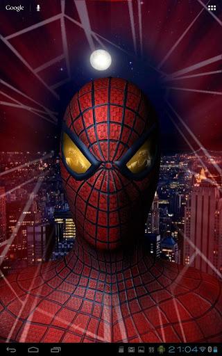 Скачать Amazing Spider-Man 3D Live WP для Андроид