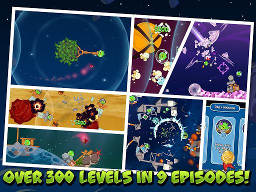 Скачать Angry Birds Space для Андроид