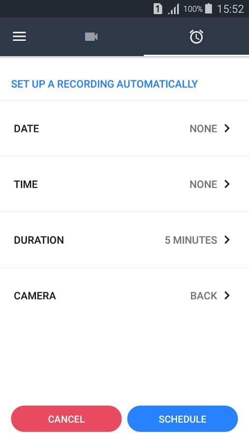 Скачать Background Video Recorder для Андроид