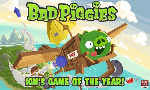 Скачать Bad Piggies для Андроид
