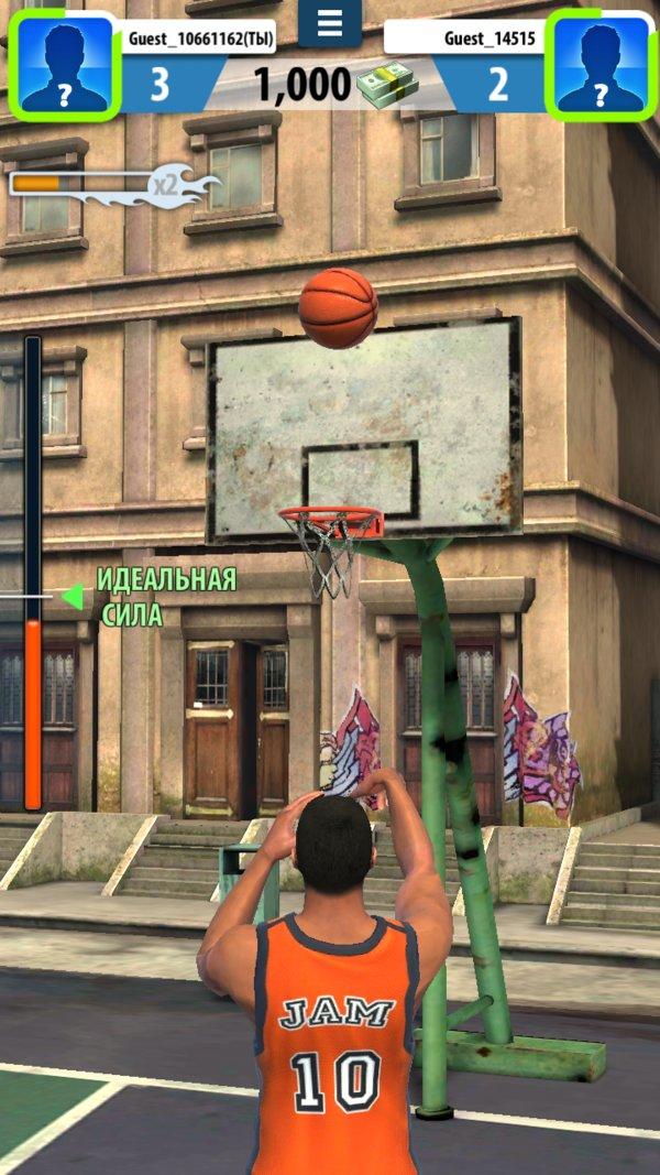Скачать Basketball Stars для Андроид