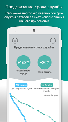 Скачать Battery Lifespan Extender для Андроид