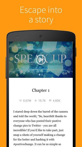 Скачать Бесплатные книги — Wattpad для Андроид