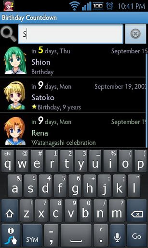 Скачать Birthday Countdown для Андроид
