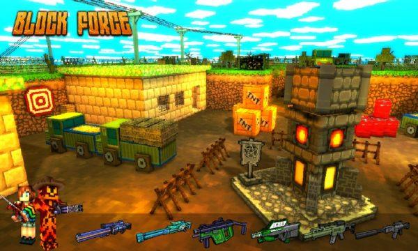 Скачать Block Force — Cops N Robbers для Андроид