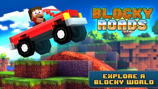 Скачать Blocky Roads для Андроид