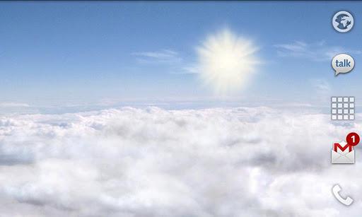 Скачать Blue Skies Free Live Wallpaper для Андроид