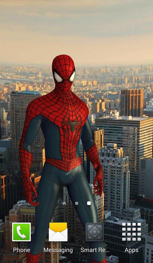 Скачать Человек паук  LWP для Андроид