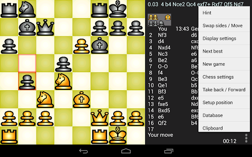 Скачать Chess genius для Андроид