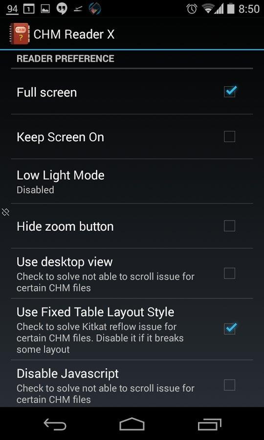 Скачать Chm Reader F для Андроид