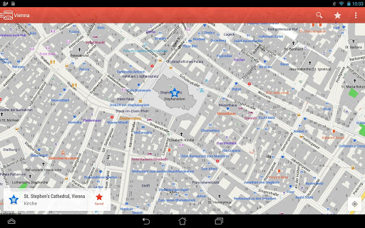 Скачать City Maps 2Go для Андроид