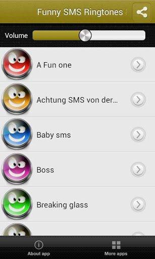 Скачать Cмешные Mелодии SMS и Звуки для Андроид