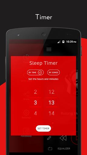 Скачать Crimson Music Player — MP3 для Андроид