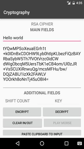 Скачать Cryptography для Андроид