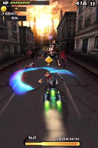 Скачать Death Moto 2 для Андроид