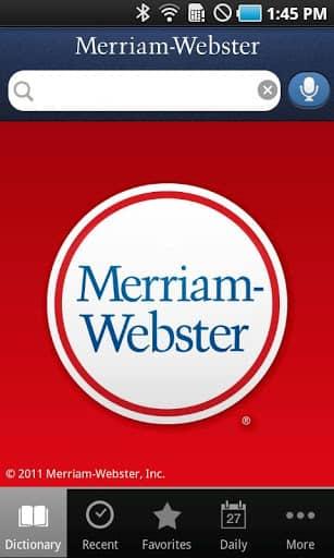 Скачать Dictionary — Merriam-Webster для Андроид