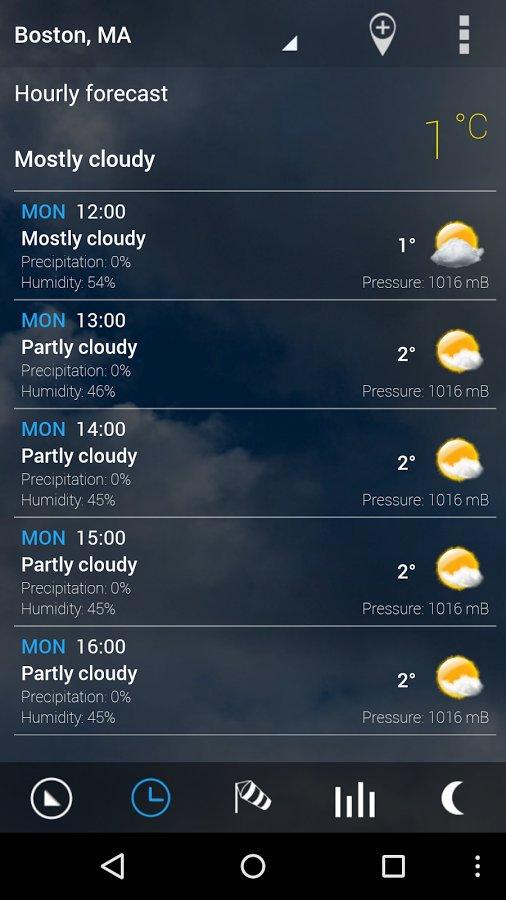 Скачать Digital clock & world weather для Андроид