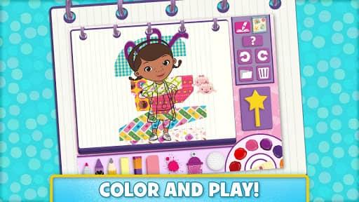 Скачать Disney Color and Play для Андроид