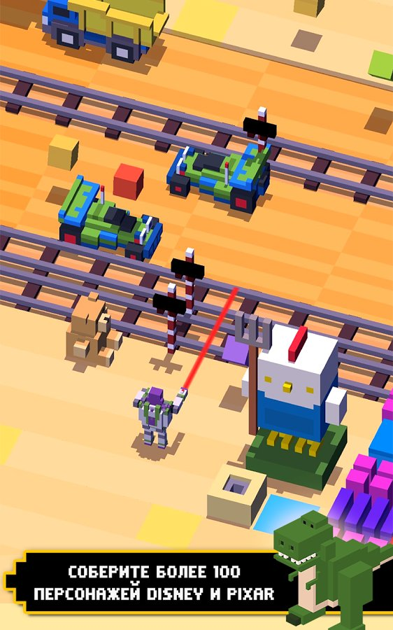 Скачать Disney Crossy Road для Андроид