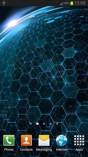 Скачать Droid DNA живые обои для Андроид