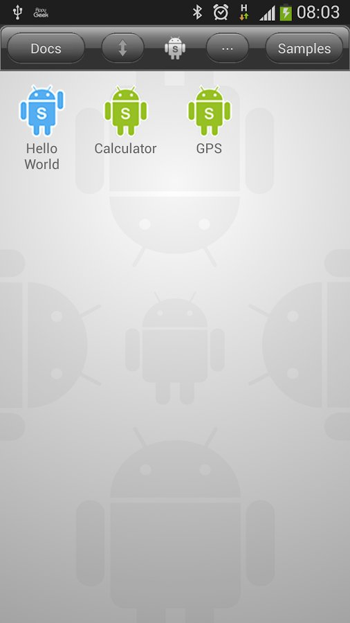 Скачать DroidScript для Андроид