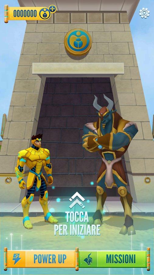 Скачать Египтус: бег по лабиринту для Андроид
