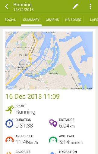 Скачать Endomondo Sports Tracker для Андроид
