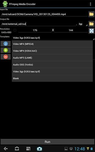 Скачать FFmpeg Media Encoder для Андроид