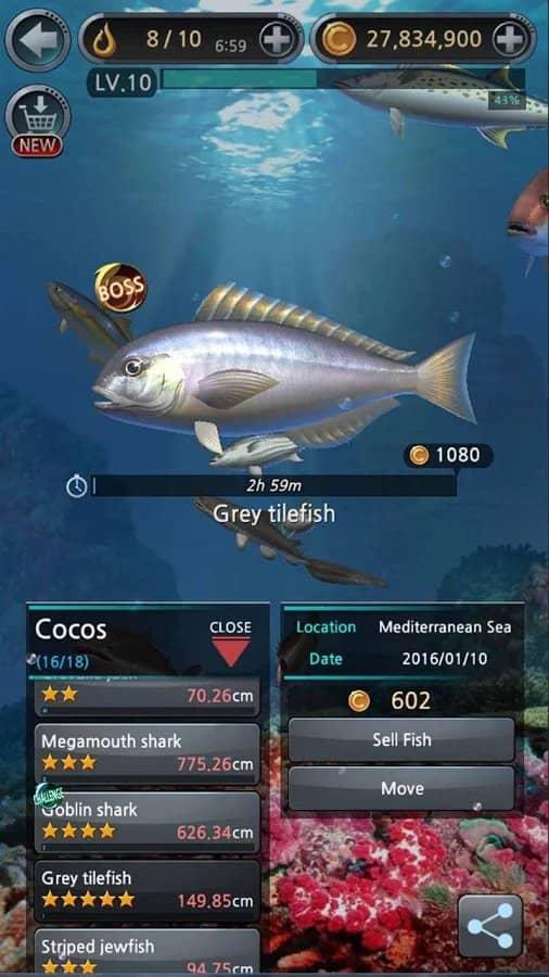 Скачать Fishing Hook для Андроид