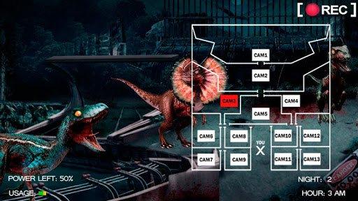 Скачать Five Nights at Jurassic World для Андроид