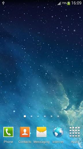 Скачать Галактика Parallax живые обои для Андроид