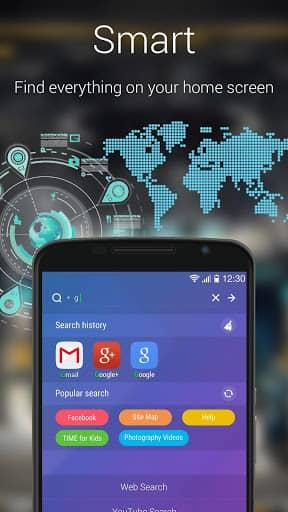 Скачать GO лончер EX:Тема & Обои для Андроид