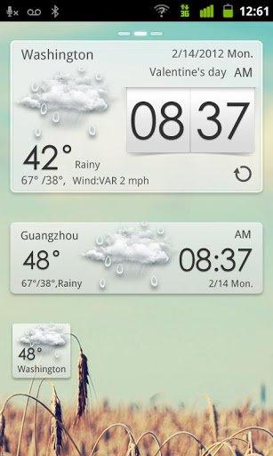 Скачать GO Weather EX для Андроид