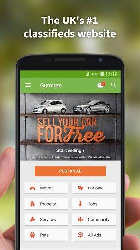 Скачать Gumtree для Андроид