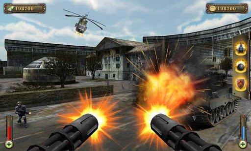 Скачать Gunship Counter Shooter 3D для Андроид