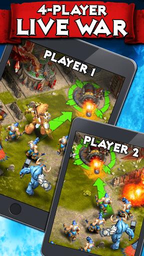 Скачать Heroes of War: Orcs vs Knights для Андроид