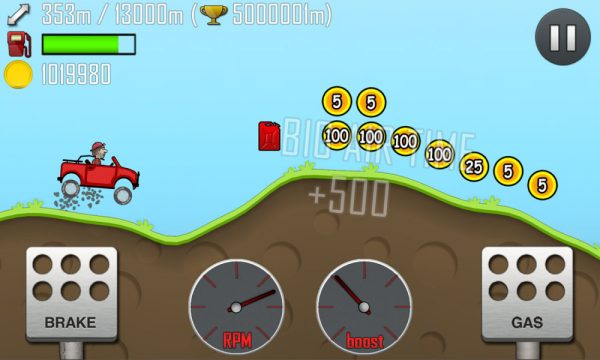 Скачать Hill Climb Racing для Андроид