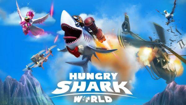 Скачать Hungry Shark World для Андроид