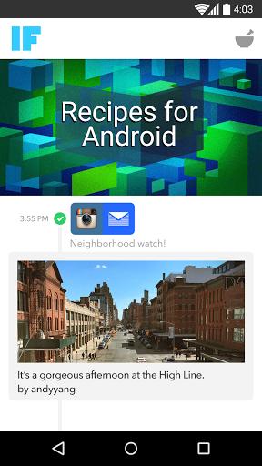 Скачать IF by IFTTT для Андроид