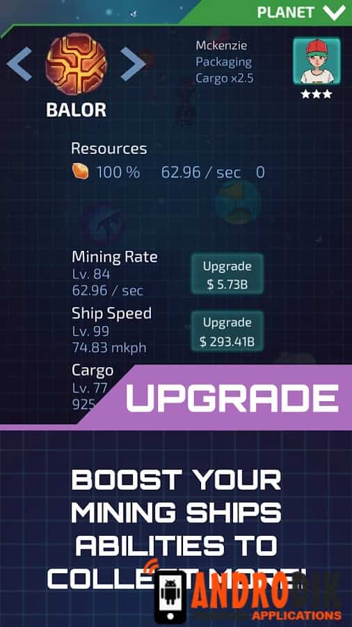 Idle Planet Miner Android