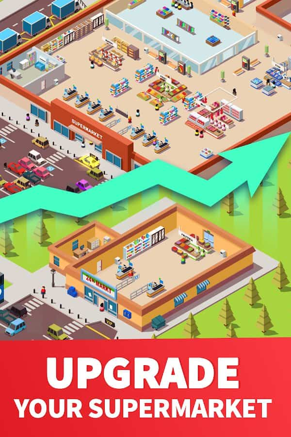 Idle Supermarket Tycoon Android