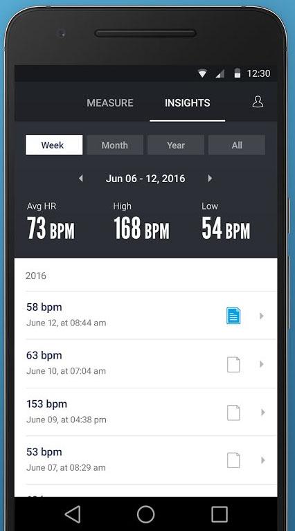 Скачать Instant Heart Rate для Андроид