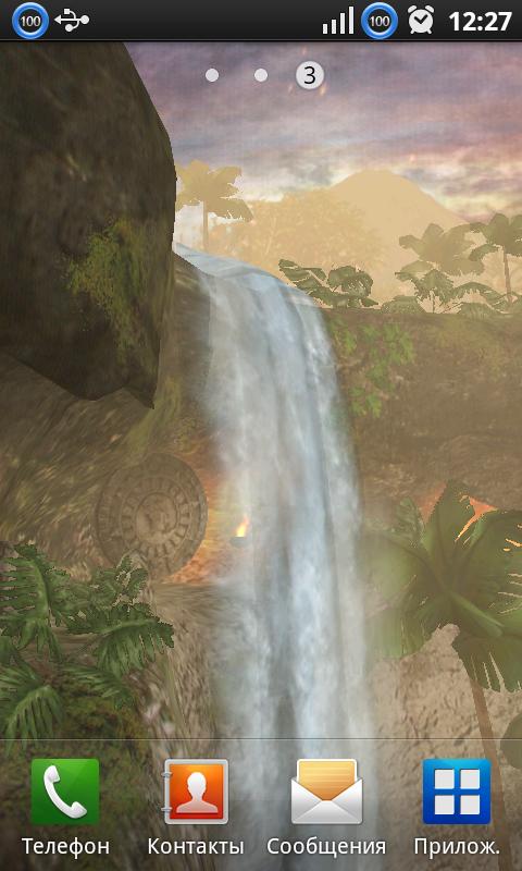 Скачать Jungle Waterfall для Андроид