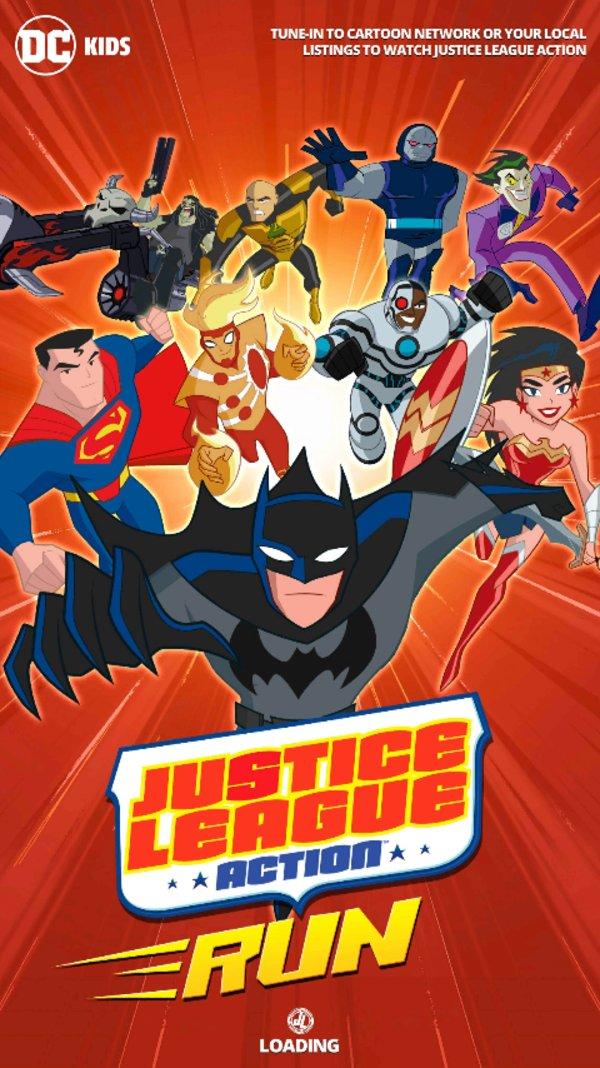 Скачать Justice League Action Run для Андроид