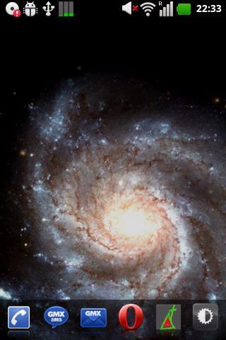 Скачать Космические 3D Live Wallpaper / Space Galaxy Live Wallpaper для Андроид